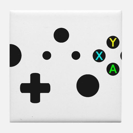 X Box Controller Tile Coaster