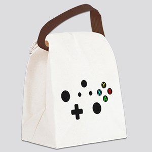 X Box Controller Canvas Lunch Bag
