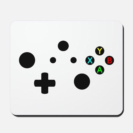 X Box Controller Mousepad