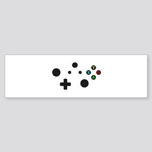 X Box Controller Bumper Sticker