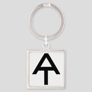 Appalachian Trail Square Keychain