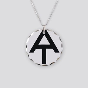 Appalachian Trail Necklace Circle Charm