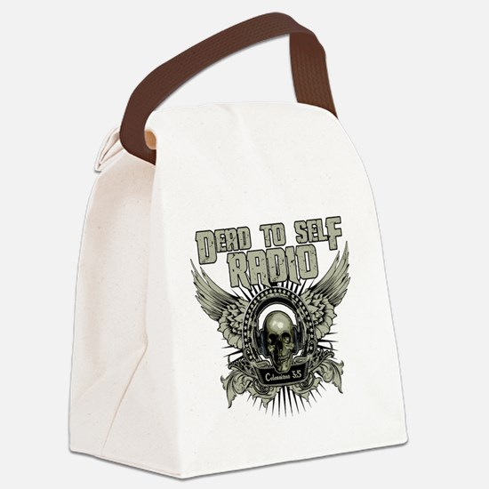 D2S Radio Canvas Lunch Bag