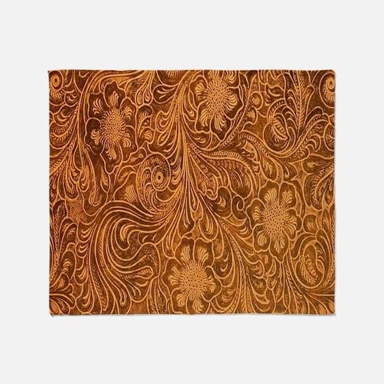 Wild West Texture 2 Throw Blanket