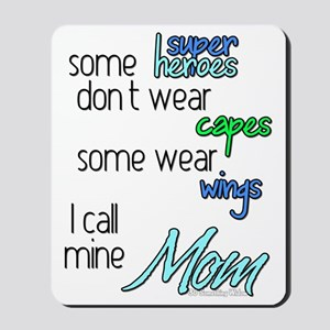 Superhero Mom Mousepad