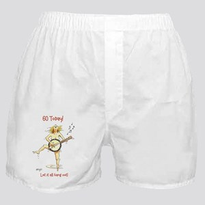 60th birthday - let it all hang out! Boxer Shorts