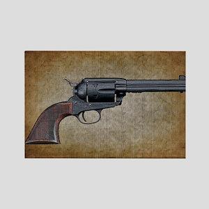 Wild West Pistol 1 19 Rectangle Magnet