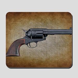 Wild West Pistol 1 19 Mousepad