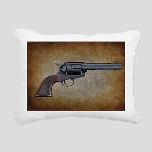 Wild West Pistol 1 19 Rectangular Canvas Pillow