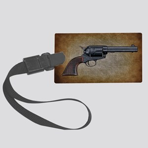 Wild West Pistol 1 19 Large Luggage Tag