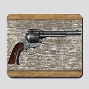 Wild West Pistol 2 19 Mousepad