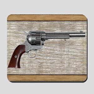 Wild West Pistol 2 19 Mousepad