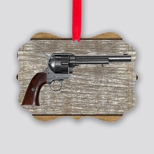 Wild West Pistol 2 19 Picture Ornament