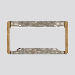 Wild West Pistol 2 19 License Plate Holder