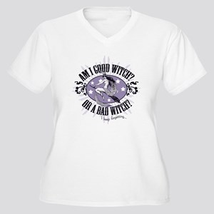 Good Witch or Bad Witch? Women's Plus Size V-Neck