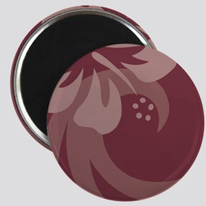 Brown Ornament (Oval) Magnet