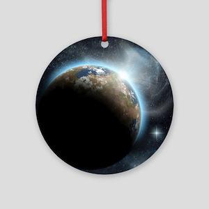 The Earth Round Ornament