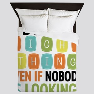 Do the Right Thing Queen Duvet