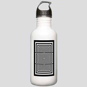 Optical Illusion Recta Stainless Water Bottle 1.0L