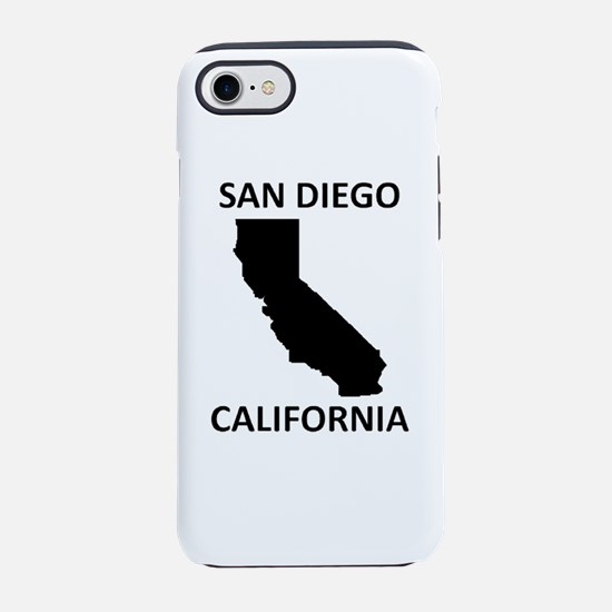 San Diego iPhone 7 Tough Case