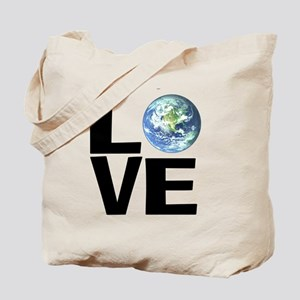 I Love the World Tote Bag