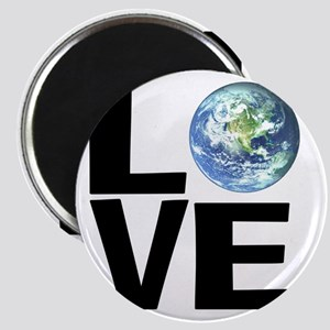 I Love the World Magnet