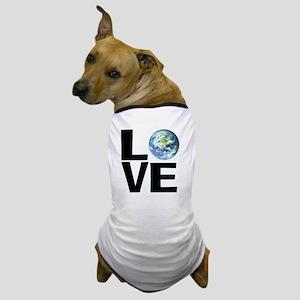 I Love the World Dog T-Shirt