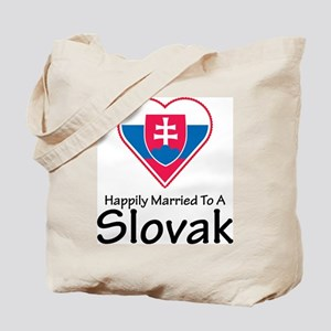 Happily Married Slovak Tote Bag