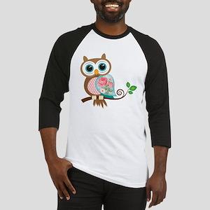 Vintage Owl Baseball Jersey