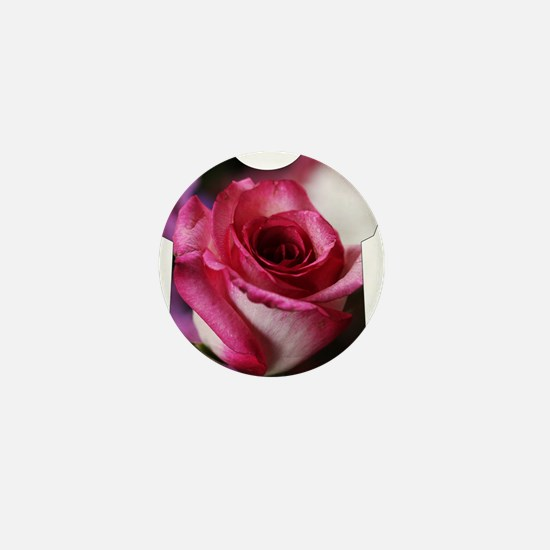 Big and Beautiful all over roses Mini Button