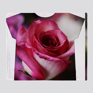 Big and Beautiful all over roses Throw Blanket