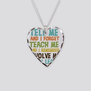 Involve Me Necklace Heart Charm