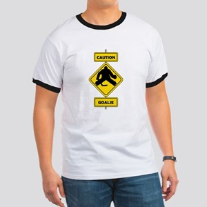 Caution Goalie Sign T-Shirt