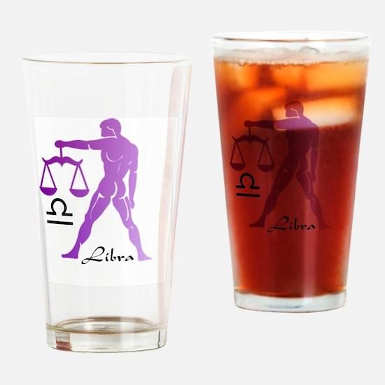 Libra Drinking Glass