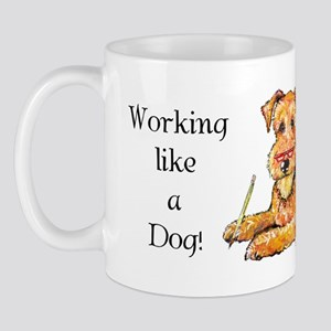 Working Airedale Mug