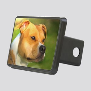 Pitt Bull Painting Hitch Cover