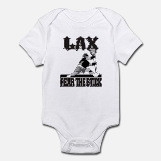 LAX Fear The Stick Infant Bodysuit