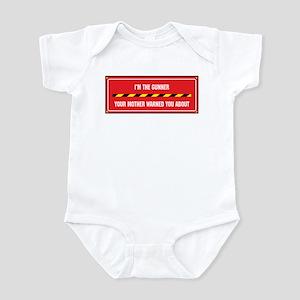 I'm the Gunner Infant Bodysuit