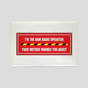 I'm the Ham Radio Operator Rectangle Magnet