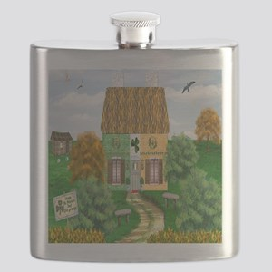 St. Patricks Cottage Flask
