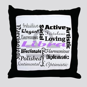 Libra Throw Pillow