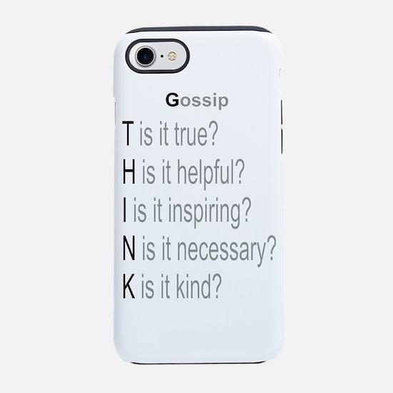 Gossip iPhone 7 Tough Case