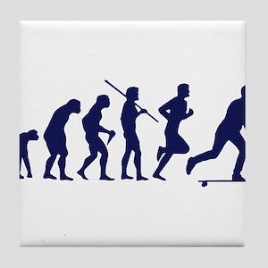 SKATEBOARD EVOLUTION Tile Coaster
