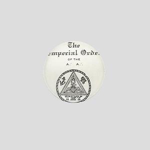 Rosicrucian Imperial Order Mini Button