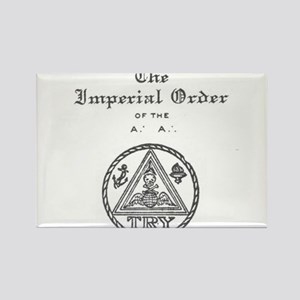 Rosicrucian Imperial Order Magnets
