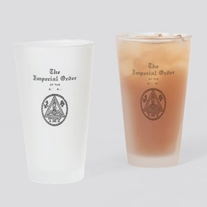 Rosicrucian Imperial Order Drinking Glass