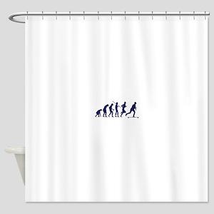 SKATEBOARD EVOLUTION Shower Curtain