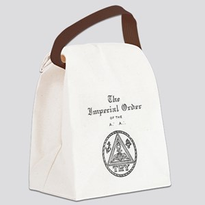 Rosicrucian Imperial Order Canvas Lunch Bag
