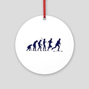 SKATEBOARD EVOLUTION Round Ornament