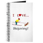 I Love Skijoring Journal